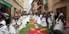 FOTOS: Corpus en Carrión de los Condes, Palencia