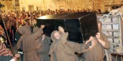 FOTOS: Escenificación del cortejo fúnebre de Felipe el Hermoso
