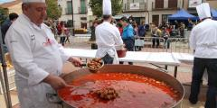 Feria del Chorizo de Cantimpalos. Segovia