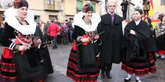 Fiesta de Santa Águeda de Zamarramala. Segovia